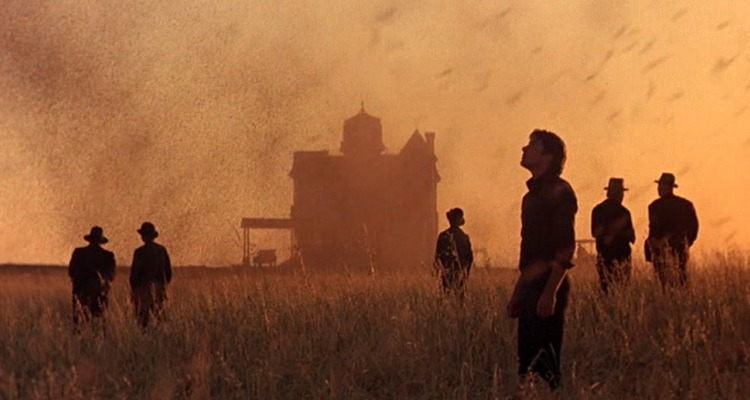The locusts descend in Malick's Days of Heaven (1978). Courtesy of: Paramount.
