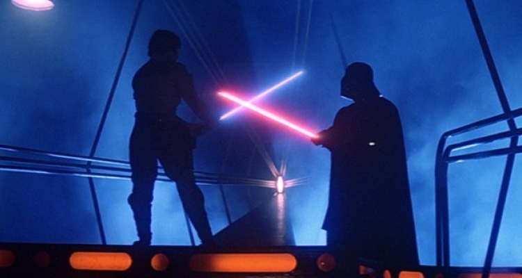 George Lucas' Star Wars was a pioneer work of sound effects which proved that film sound had the capacity to take the viewer out of this world. Courtesy of: Twentieth Century Fox.