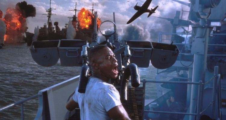 Gooding Jr steals the show in Bay's epic attack. Courtesy of: Touchstone Pictures.