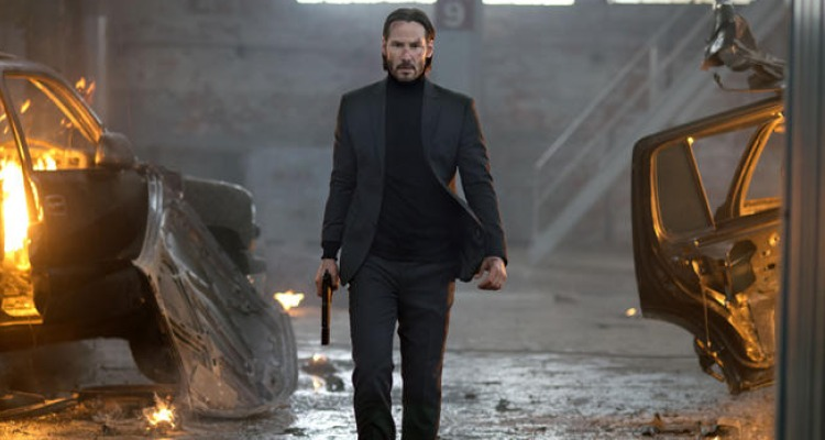 Keanu back to his brooding best in John Wick (2015). Courtesy of: Lionsgate.