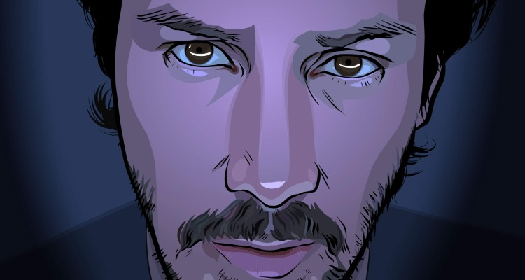 Keanu in Richard Linklater's fantastic feature A Scanner Darkly. Courtesy of: Warner Bros.
