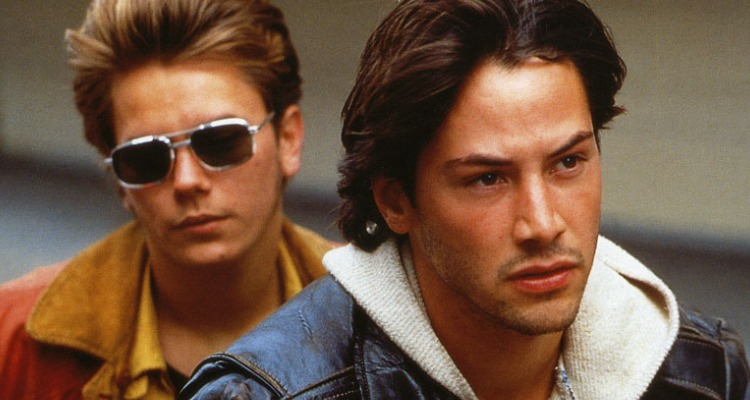 Keanu Reeves and River Phoenix in Gus Van Sant's excellent My Own Private Idaho. Courtesy of: New Line Cinema.