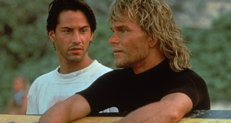 Starring opposite 80s legend Patrick Swayze in the irrepressible Point Break. Courtesy of: Pathe.