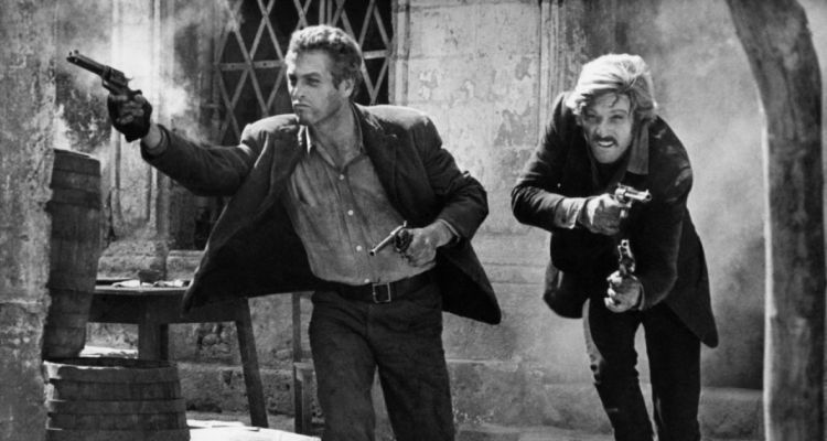 Paul Newman and Robert Redford in Butch Cassidy and the Sundance Kid (1969). Courtesy of: 20th Century Fox.
