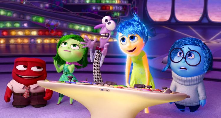 Inside Out. Courtesy of: Disney.