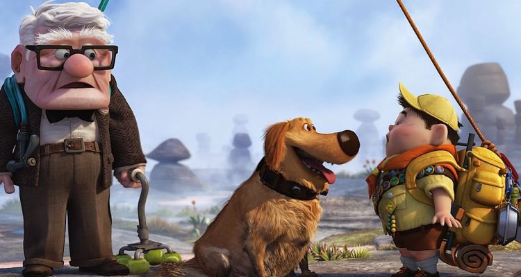 Up's unlikely heroes. Courtesy of: Disney.