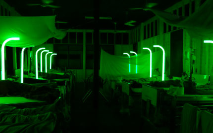 CEMETERY OF SPLENDOUR Green Neon