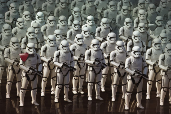 Star Wars The Force Awakens Stormtroopers Wide
