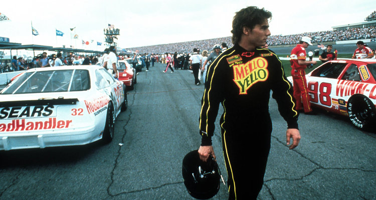 Days Of Thunder Tom Cruise ©Paramount Pictures For Sky Cinema Publicity Only