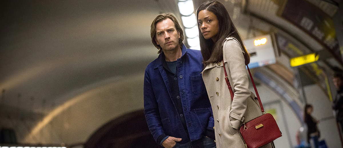 Our Kind Of Traitor 1 Ewan McGregor And Naomie Harris