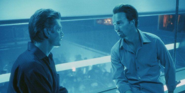 Edward Norton in 25th Hour. Courtesy of: 40 Acres and a Mule