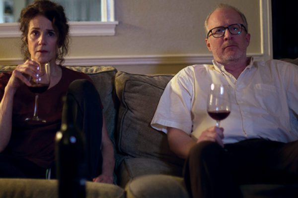 Debra Winger As Mary And Tracy Letts As Michael In THE LOVERS.