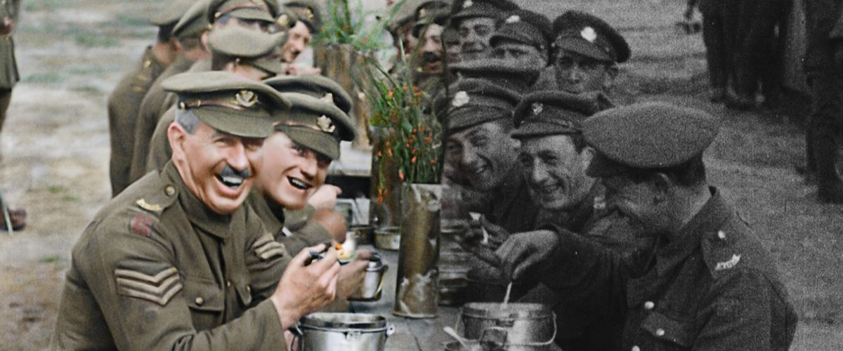 0 They Shall Not Grow Old Artwork Colourised Footage Artistic Rendition 2018 THEY SHALL NOT GROW OLD By WingNut Films