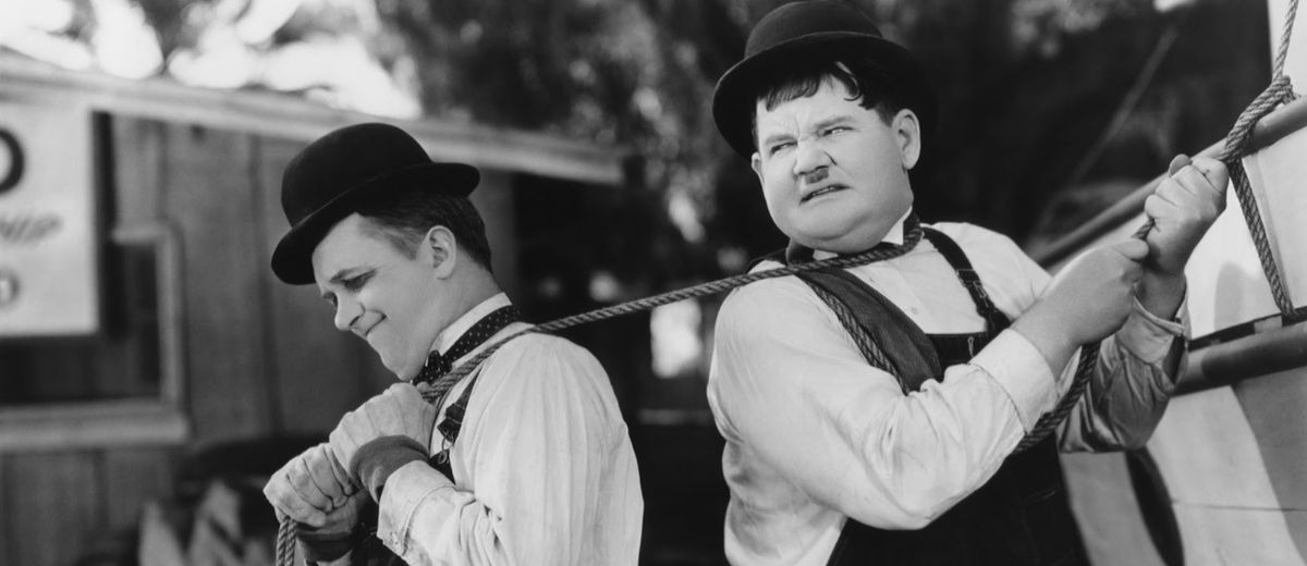 Laurel Hardy (Towed In A Hole) 02