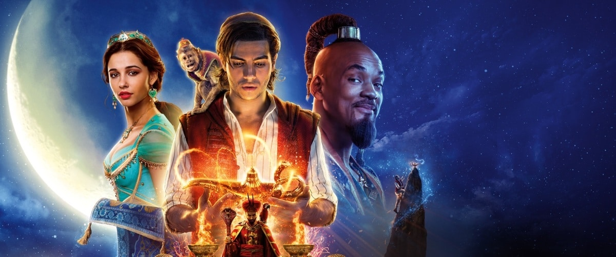 Aladdin 2019 poster characters