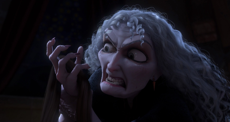 Mother Gothel Rapidly Aging